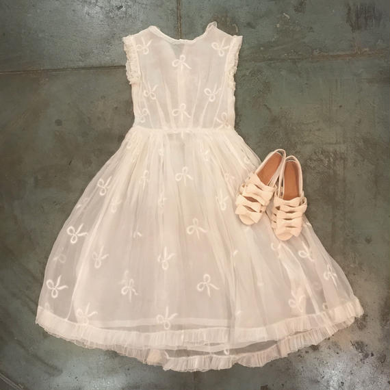 1930s Organdy Dress