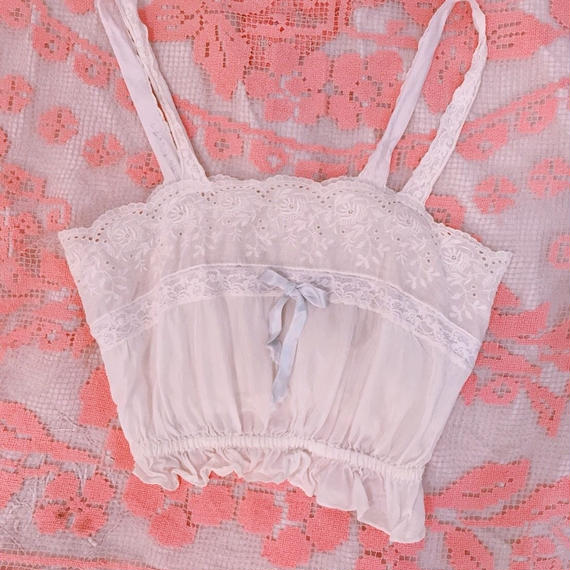 French Lingerie Camisole Top