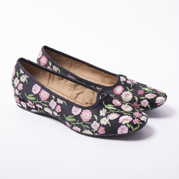 F-Troupe DY1800 EMBROIDERED SATIN FLORAL