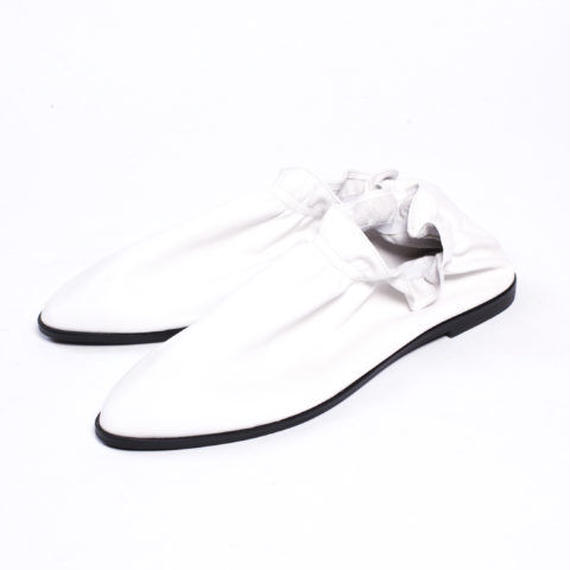 SA024 LEATHER WHITE