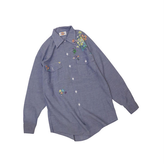 DICKIES USED PAINT L/S SHIRT