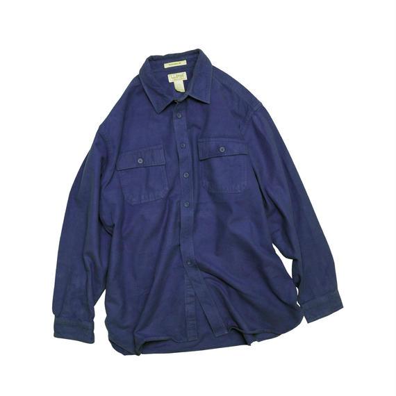 """L.L.BEAN """"CHAMOIS CLOTH""""  L/S SHIRT"""