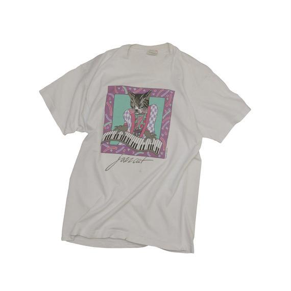 "USED ""JAZZ CAT"" T-shirt"