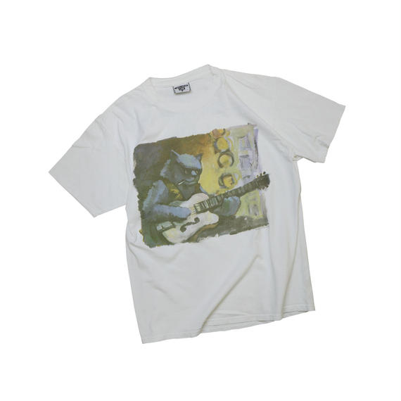 """USED """"BRUES MUSIC FESTIVAL 1993"""" T-shirt"""