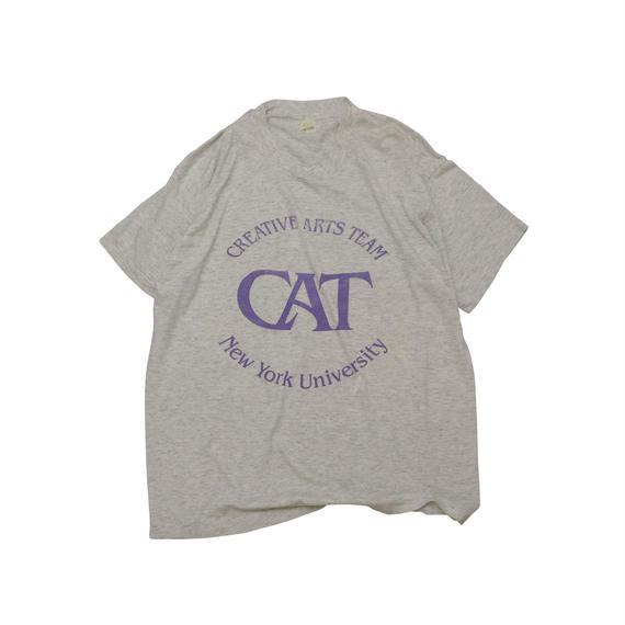 "NEW YORK UNIVERSITY ""C A T"" Tshirts"