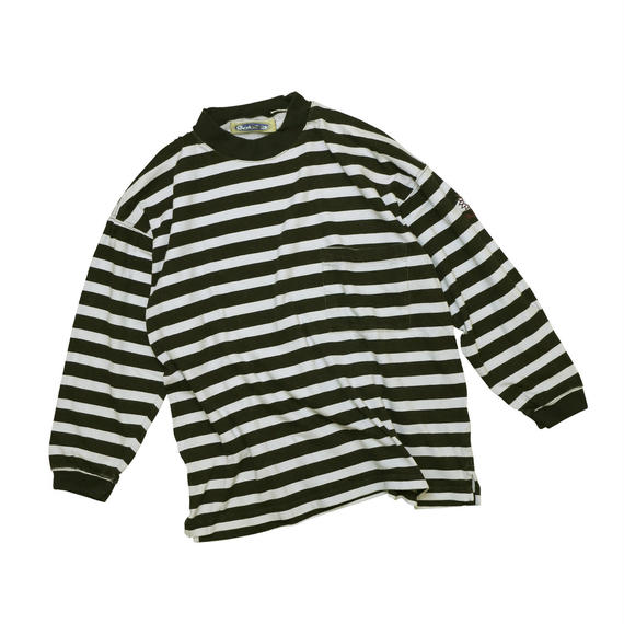"USED ""90'S GOTCHA"" STRIPE L/S T-shirt"