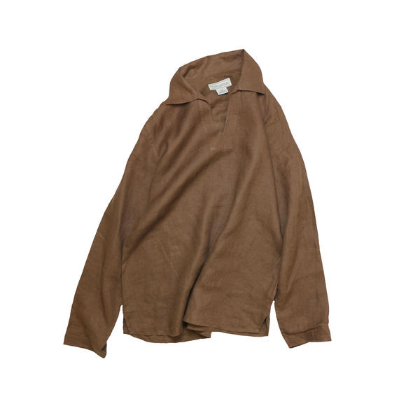 USED OPEN COLLAR PULL OVER SHIRT