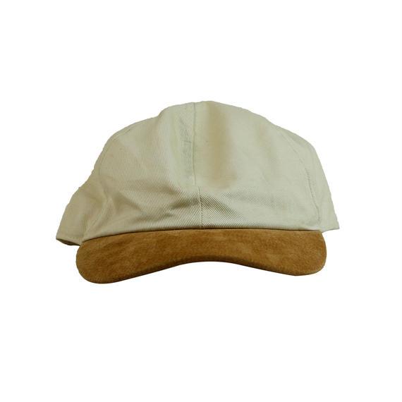 USED COTTON / SUEDE COMBI CAP