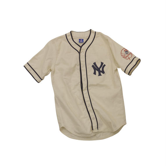 90'S NEW YORK YANKEES BB USED SHIRT