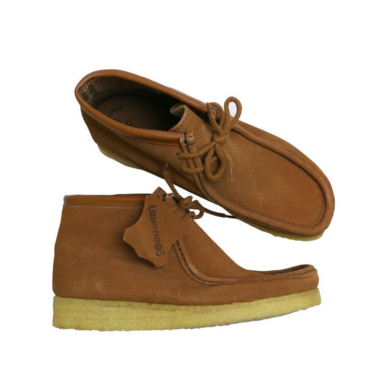 "URBAN TRENDS  ""WALLABEE BOOTS""  RUST SUEDE DEAD STOCK"