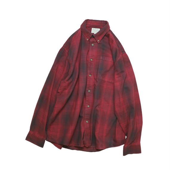 """USED """"CABELA'S"""" OMBRE BD SHIRT"""