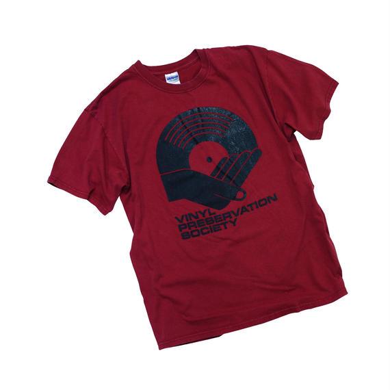 """USED """"VINYL PRESERVATION SOCIETY"""" T-shirt"""