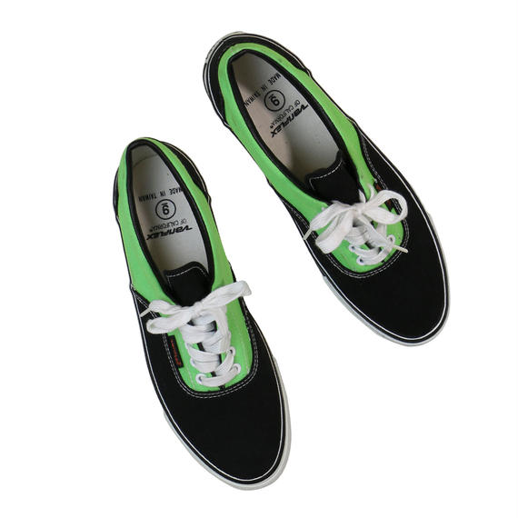 VARIFLEX SNEAKER / BLACK & LIME GREEN