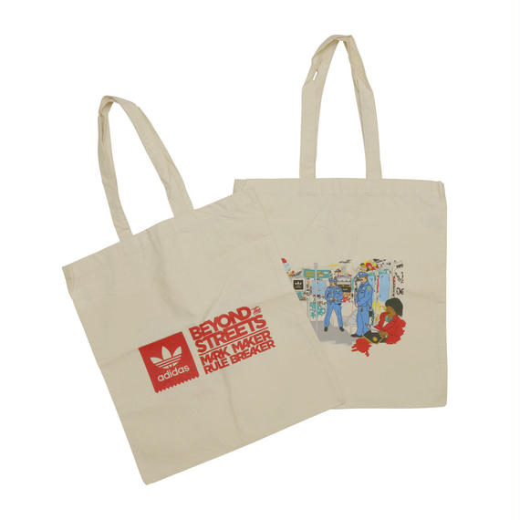 """BEYOND THE STREET """"MARTH COOPER TOTE BAG"""" by ADIDAS"""