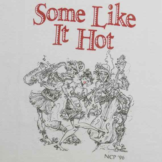 """USED """"SOME LIKE IT'S HOT"""" T-shirt"""