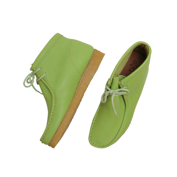 """GBX """"WALLABEE BOOTS"""" LIME GREEN DEADSTOCK"""