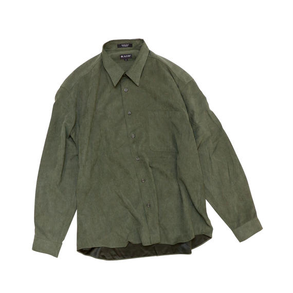 KAID POLY SUEDE L/S SHIRT