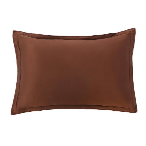 シルク枕カバー ブラウン