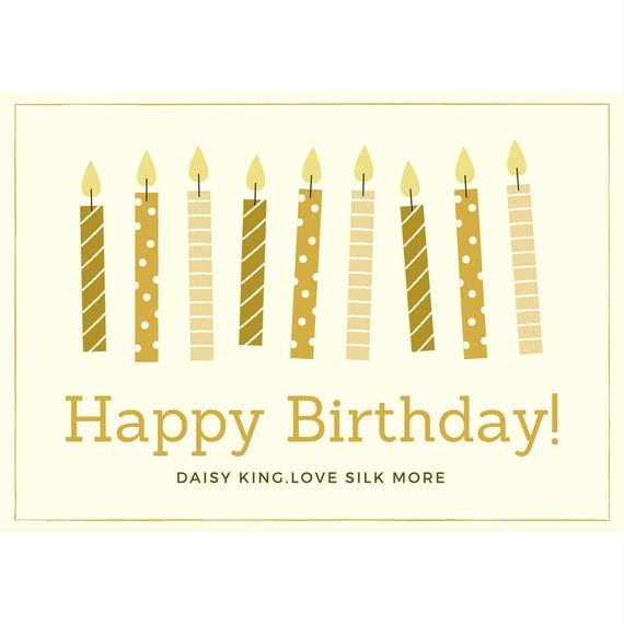 ギフトラッピングーHappy Birthday