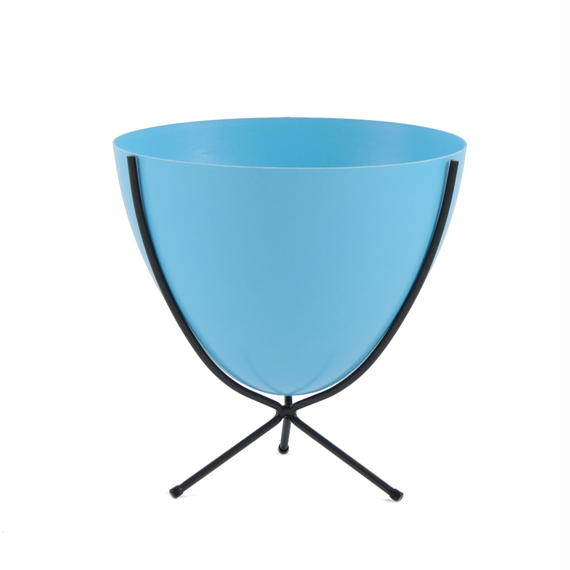 Retro Bullet Planter by Hip Haven™ – Short(Bright Blue)