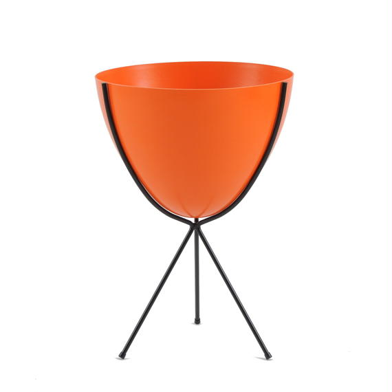 Retro Bullet Planter by Hip Haven™ – Medium(Hot Orange)