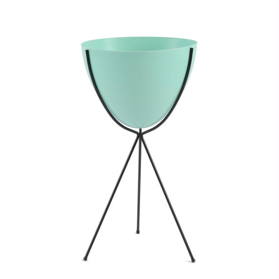 Retro Bullet Planter by Hip Haven™ – Tall(Turquoise)