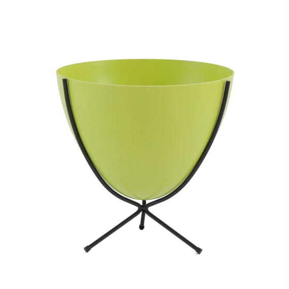 Retro Bullet Planter by Hip Haven™ – Short(Chartreuse)