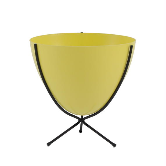 Retro Bullet Planter by Hip Haven™ – Short(Sunny Yellow)