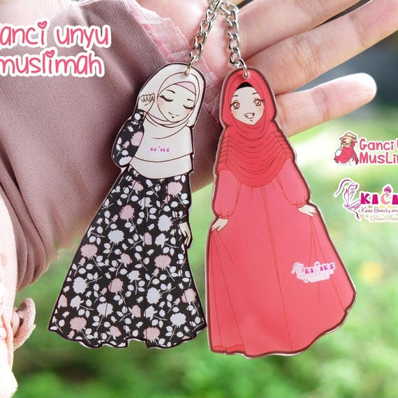 Free Muslimah Keychain/Pin for Order 10,000¥