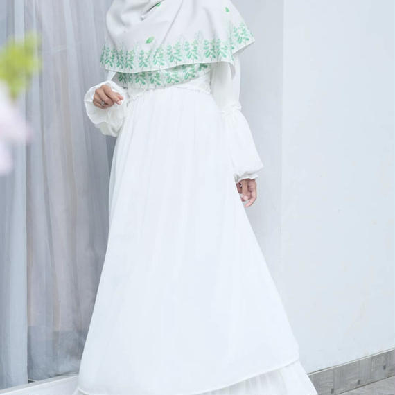 Ayuna Dress White L