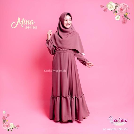 Mina Dress (with khimar set)