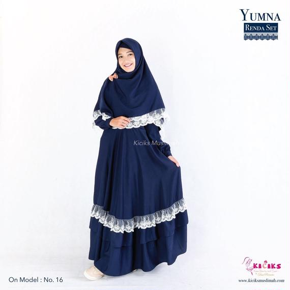Yumna Dress Set (with pretty lace)