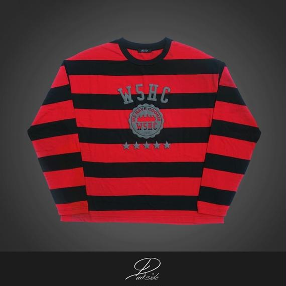 【W5HC】~college logo long sleeve~