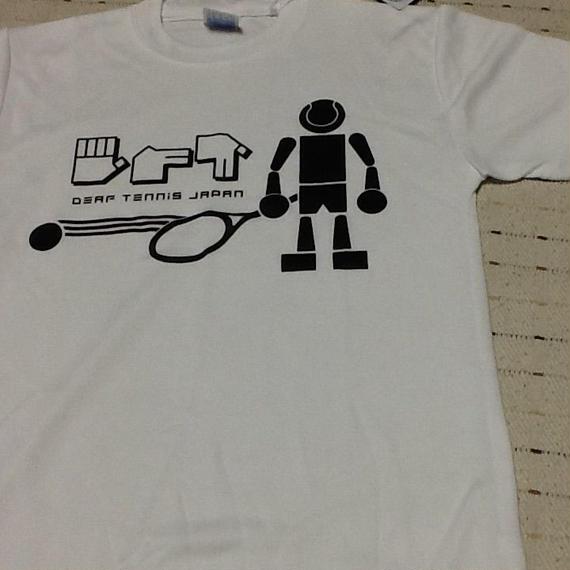 ☆NEW!!☆ドライフィットTシャツ 「ボールボーイ」白×黒