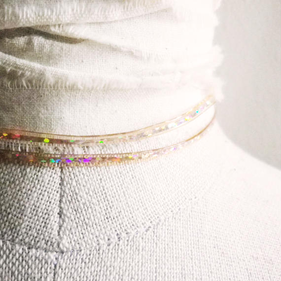 BLING RING CHOKER<Prism>
