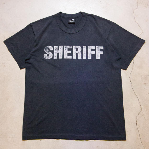 90's Vintage SHERIFF S/S T-shirts シェリフ 保安官