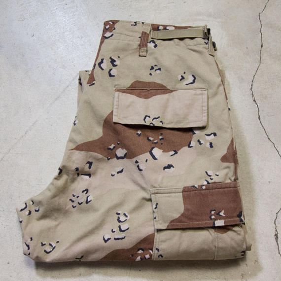 US ARMY Desert Camo BDU チョコチップカモ Small-Short