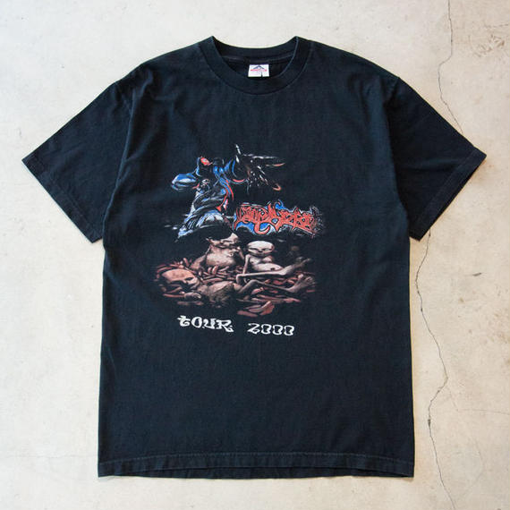 "Limp Bizkit ""The Anger Management Tour 2000"" S/S T-shirts リンプビズキット エミネム"