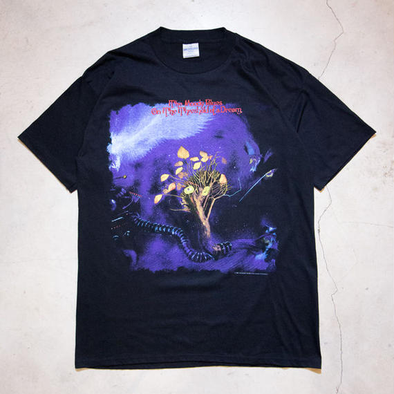 "NOS '93 Moody Blues ""On the Threshold of a Dream"" S/S T-shirts ムーディ・ブルース アバッキオ"