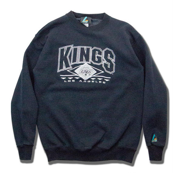 Los Angeles KINGS Embroidred Sweashirts アメリカ製