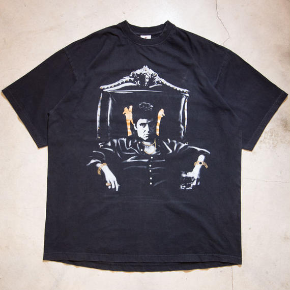90's Scarface Print S/S T-shirts スカーフェイス 2XL