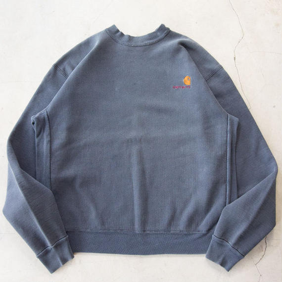 90's Carhartt Logo Embroidered Plain L/S Sweatshirts カーハート