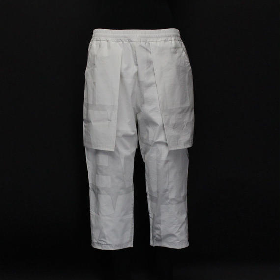 DOUBLE PANTS / 11 WHITE
