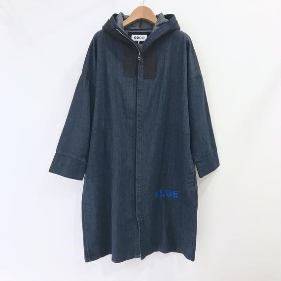 00○○ デニムパーカーコート / 1810-1026 BLUE