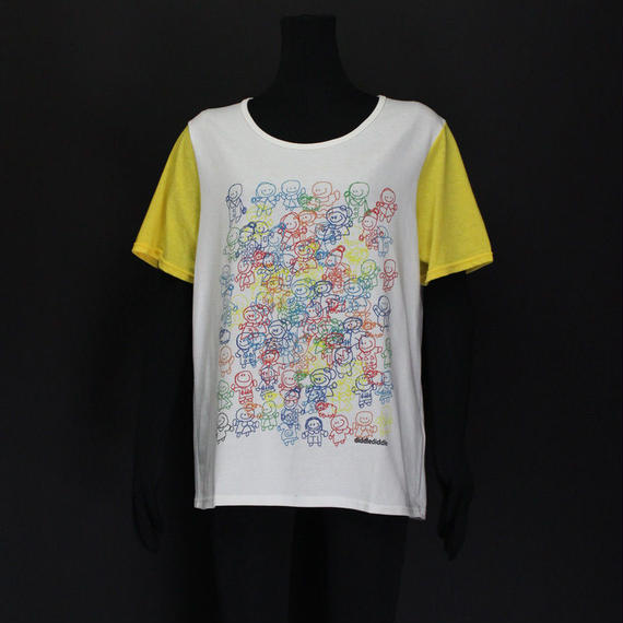 PRINT T-SHIRTS diddlediddle / 11 WHITE
