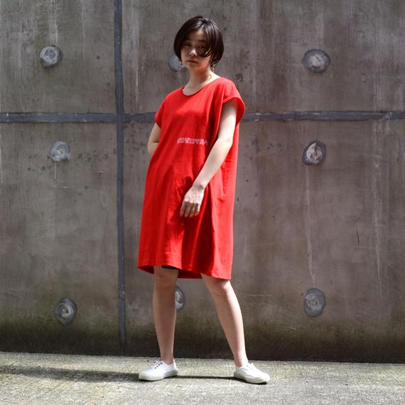 00〇〇 ノースリーブカットソー/1806-red
