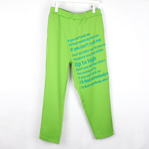 ROOSTER PANTS / 42 YELLOW GREEN