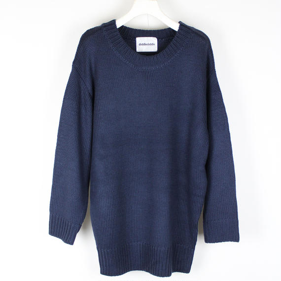 SOFT KNIT / NAVY