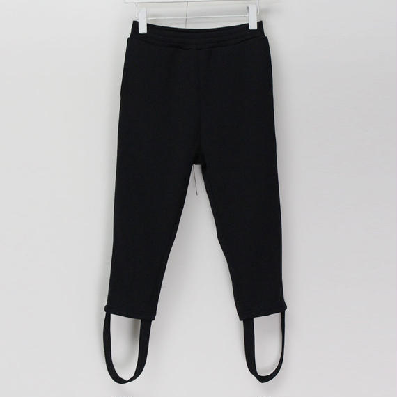 PONY PANTS / 99 BLACK