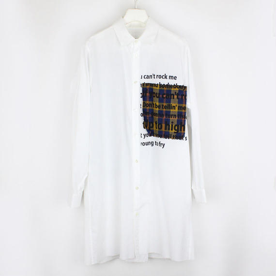 PISTOL SHIRTS / 02 YELLOW